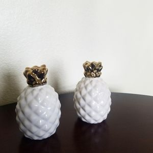 Target pineapple salt and pepper small shakers